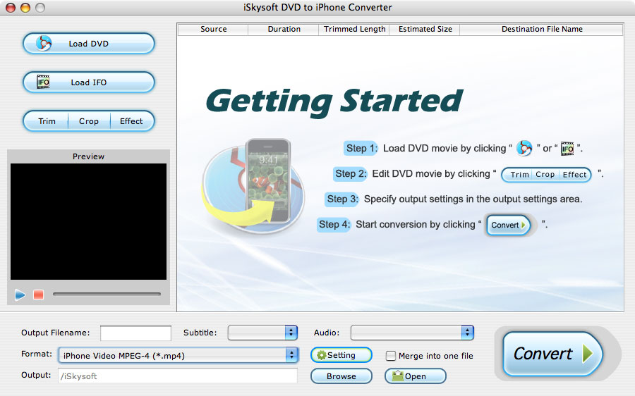 Mac DVD Movie to iPhone Converter